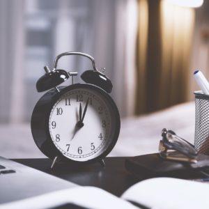 Ponctualité - Réveil - Respect des délais