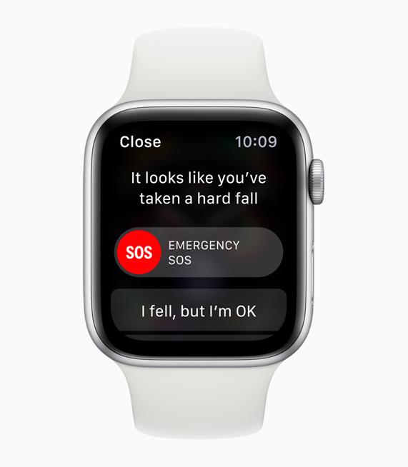 L'Apple Watch Series 4 détecte les chutes des seniors