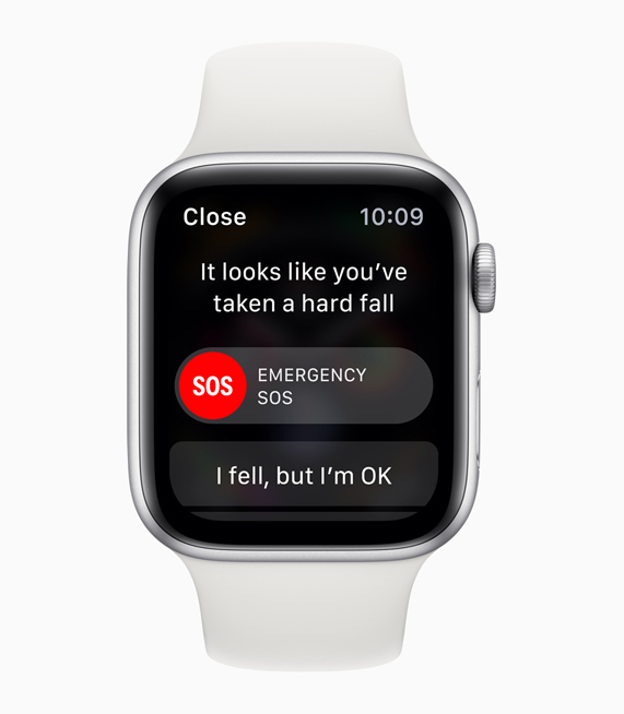 L'Apple Watch Series 4 détecte les chutes des seniors